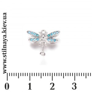 ML-link-dragonfly-15-rhodium-turquise