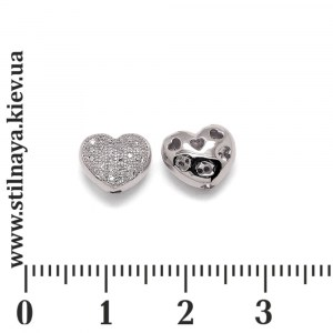 Milano-bead-heart-rhodium-9mm