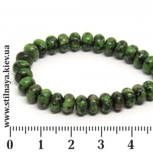 bead-rondell-6x4mm-rubyzoicite