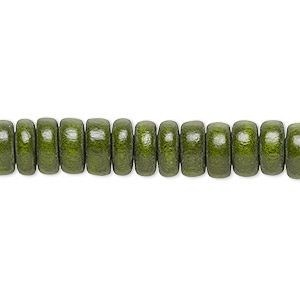bead-rondelle-8mm-olive