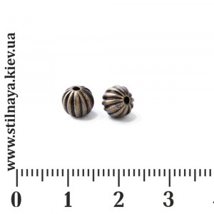 bmb-metal-bead_6mm_corrugated_round