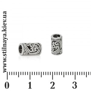 hollow-bead-tube-8x5mm-silver57