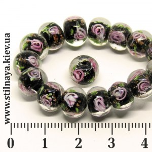 lampwork-bead-8x10mm-spiral-black