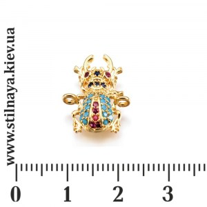 milano-charm-13x17mm-beetle-gp-001