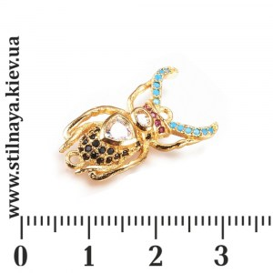 milano-charm-13x23mm-beetle-gp