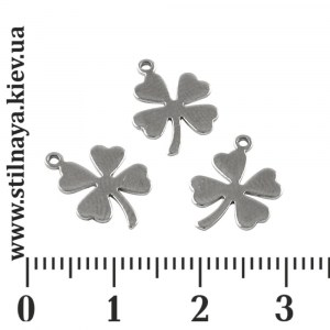 steel-clover-charm-13x10mm